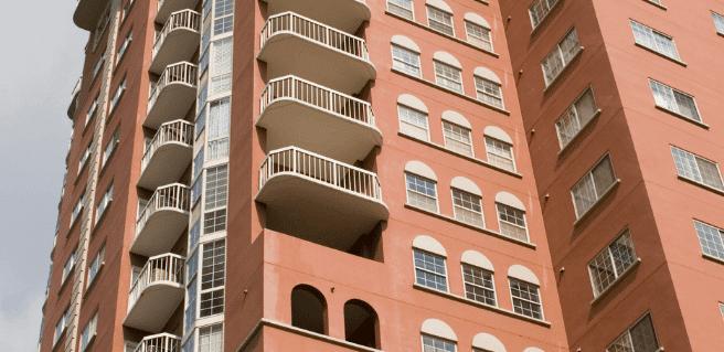 Sky Lofts condominiums in Atlanta's historic West Side community.