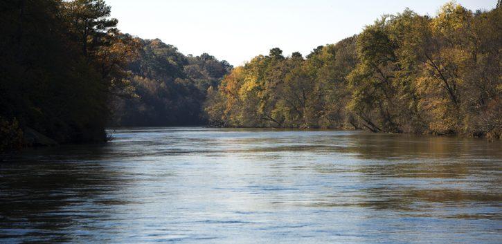 Chattahooochee River in Roswell GA