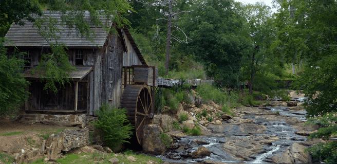 Canton GA mill located in Cherokee County GA
