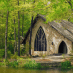 Gothic Style Chapel in the Callaway Gardens woods