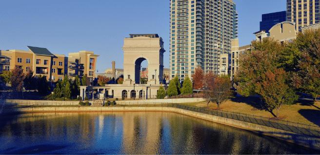 Millennium Gate located in Atlanta