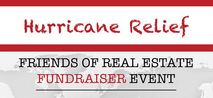 Friends of Real Estate Fundraiser Event: Hurricane Relief