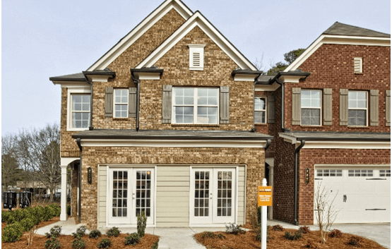 New Townhomes at Amberly Mill in Lawrenceville Impress Buyers