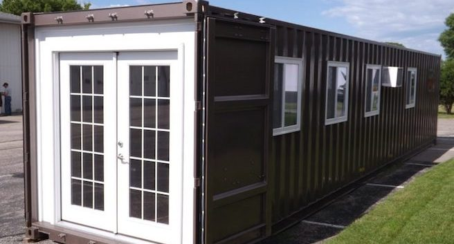 Tiny House/Shipping Container You Can Buy from Amazon