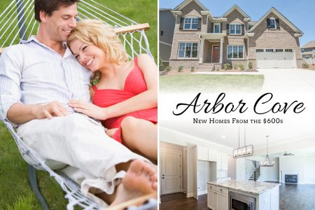 Now Selling Luxurious Cobb County Homes at Arbor Cove