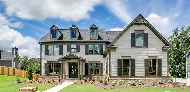 Community Closeout at Williams Point by SR Homes