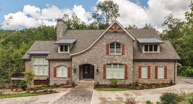 custom home in Atlanta by Water's Edge Group