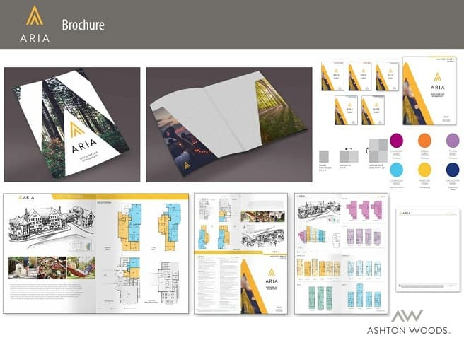 Ashton Woods Homes Wins Gold OBIE for Best Brochure for Aria