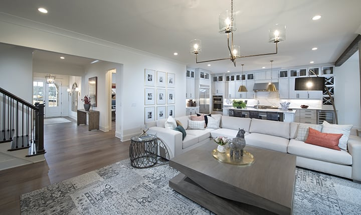 Decorated Model Home Now Open at New East Cobb Community