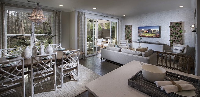 The Providence Group Opens New Townhome Model at Chelsea Walk