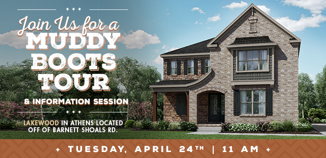 Join SR Homes for Muddy Boots Tour, Lunch at New Athens Community