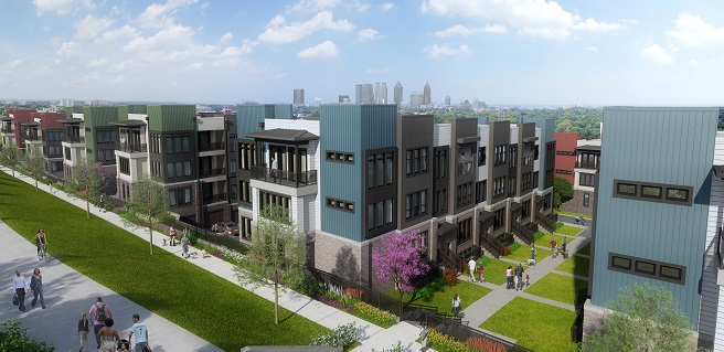 The Providence Group Announces New Grant Park Townhome Community