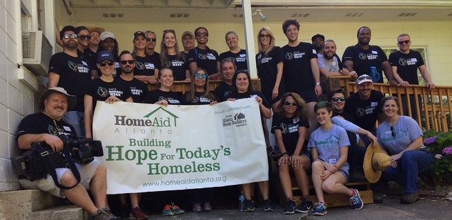 FOX Volunteers at HomeAid Atlanta Care Day