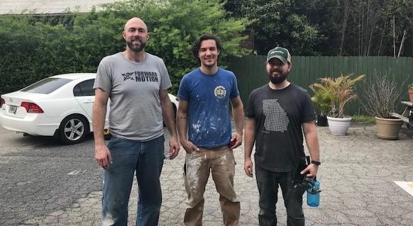 HomeAid Atlanta volunteers