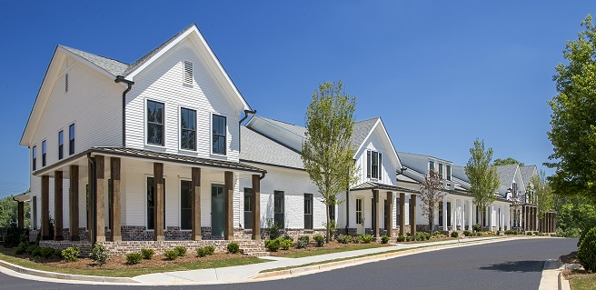New Alpharetta Townhomes in All Stages | The Providence Group