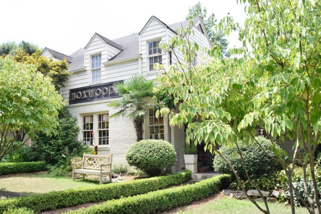 Boxwoods in Buckhead Village