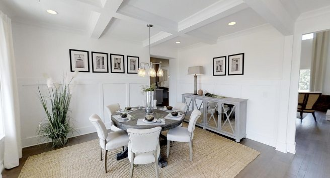 model home from Paran Homes in Kennesaw