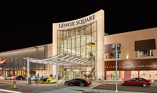 Lenox Square offers luxury shopping in Buckhead