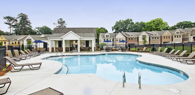North Square Townhomes in Marietta
