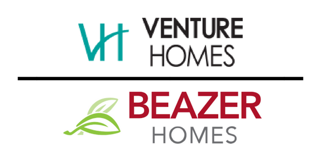 Venture Homes and Beazer Homes