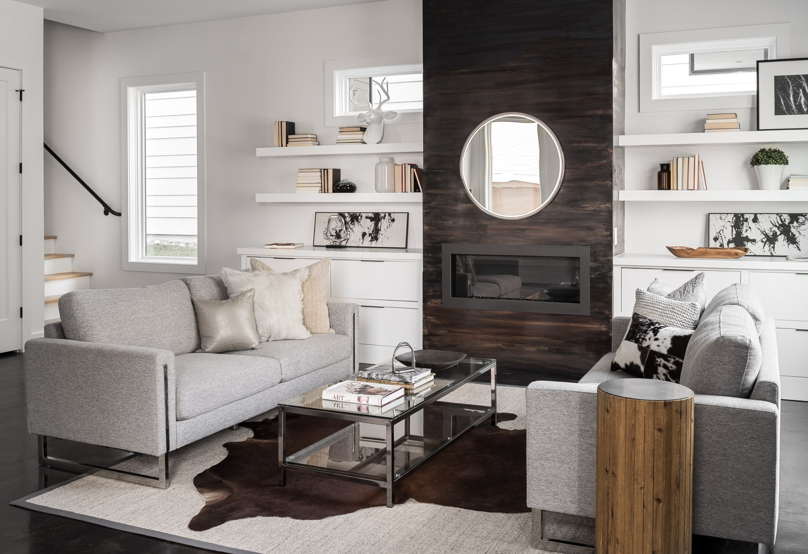 289 Glen Iris Living Room staged