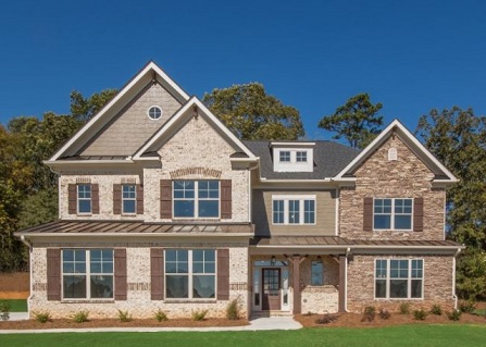 New Construction Home at Traditions of Braselton in NE Georgia