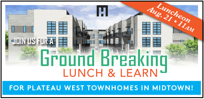 Lunch and Learn, Groundbreaking of New Midtown Community