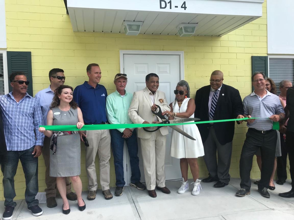 Ribbon Cutting at Making a Way Housing with HomeAid Atlanta