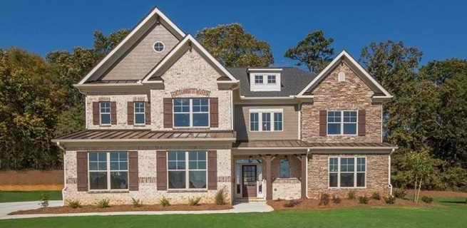 new homes in Tucker at The Woods of Midvale
