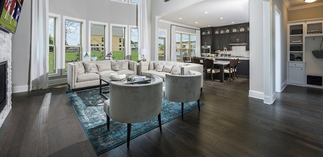 Project Focus: New Johns Creek Decorated Model Home