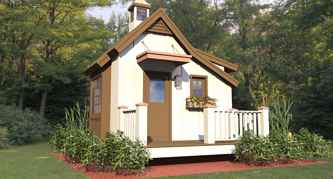 HomeAid Atlanta Project Playhouse rendering