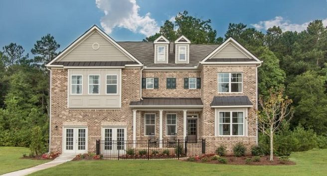 The Model Home at Oakleigh Pointe in Dallas - Paran Homes