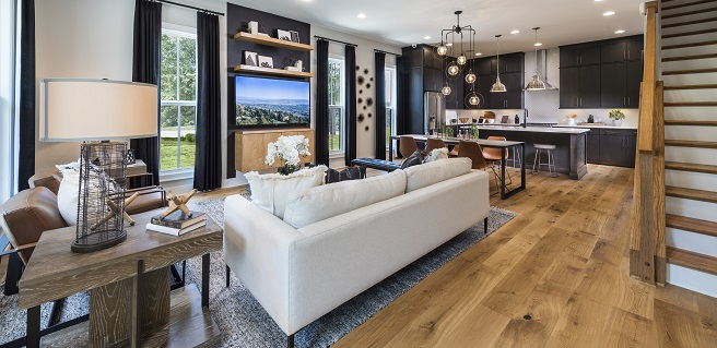 Seeing is Believing at Towns at North Decatur New Model Home
