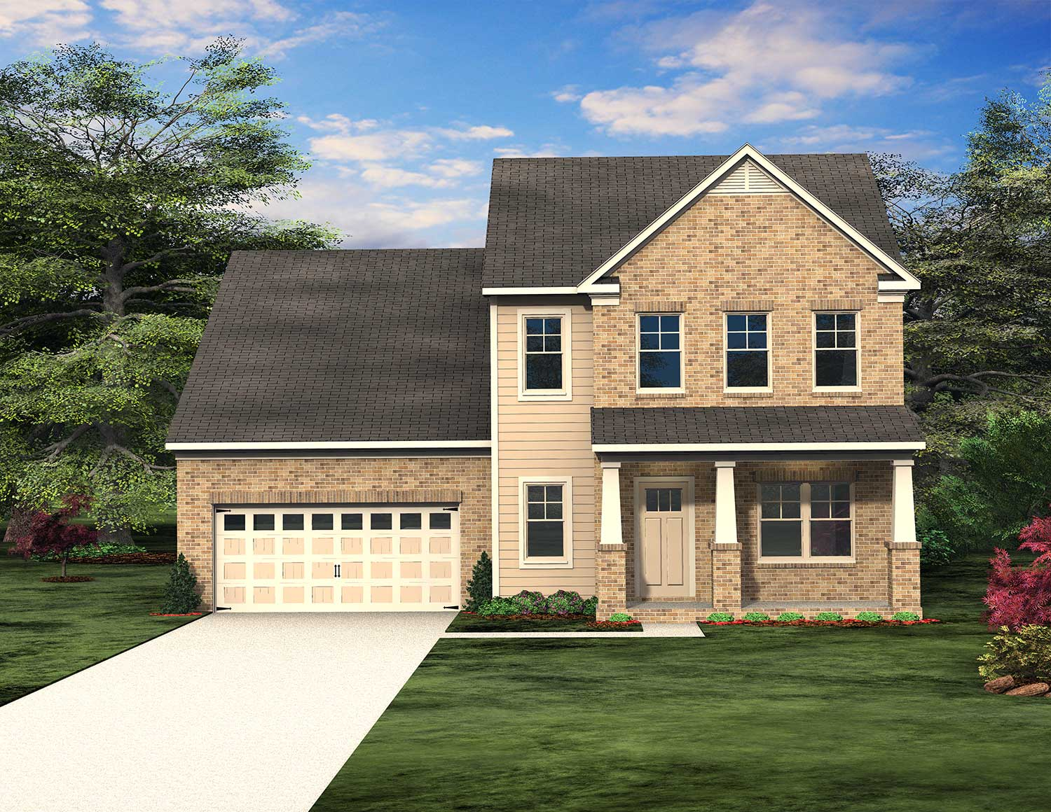 Bedminster Floor Plan at Traditions of Braselton