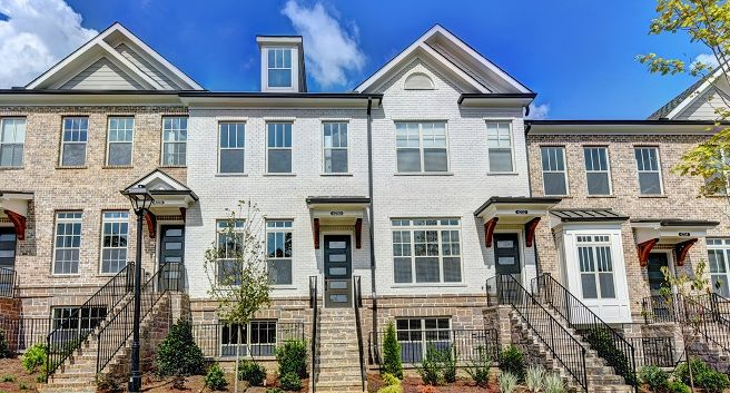townhome community in Sandy Springs