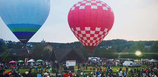 Sterling on the Lake to Host 9th Annual Harvest Balloon Festival