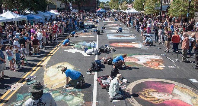 Marietta Square Chalktoberfest