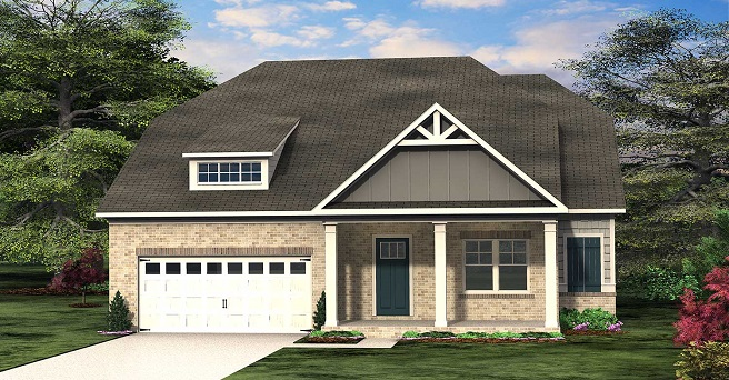 New Ranch Floor Plan at Traditions of Braselton - The Southampton
