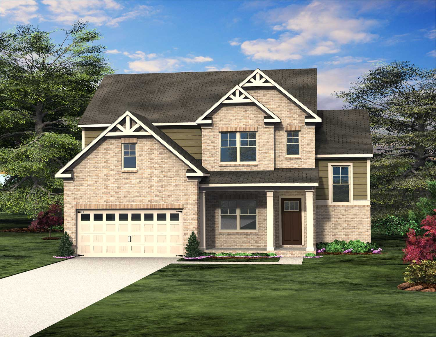 Oakmont Floor Plan at Traditions of Braselton