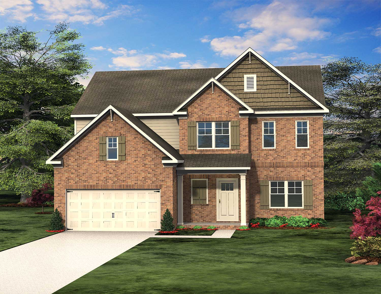 Southport Floor Plan at Traditions of Braselton