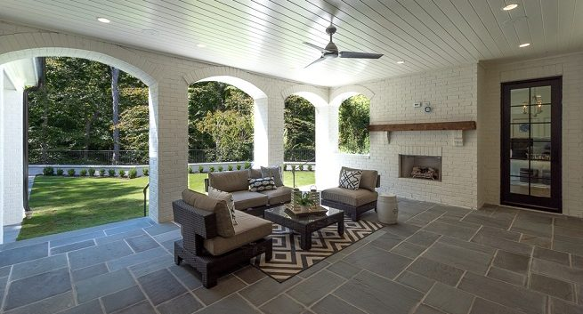 outdoor living at Stokesman Luxury Home
