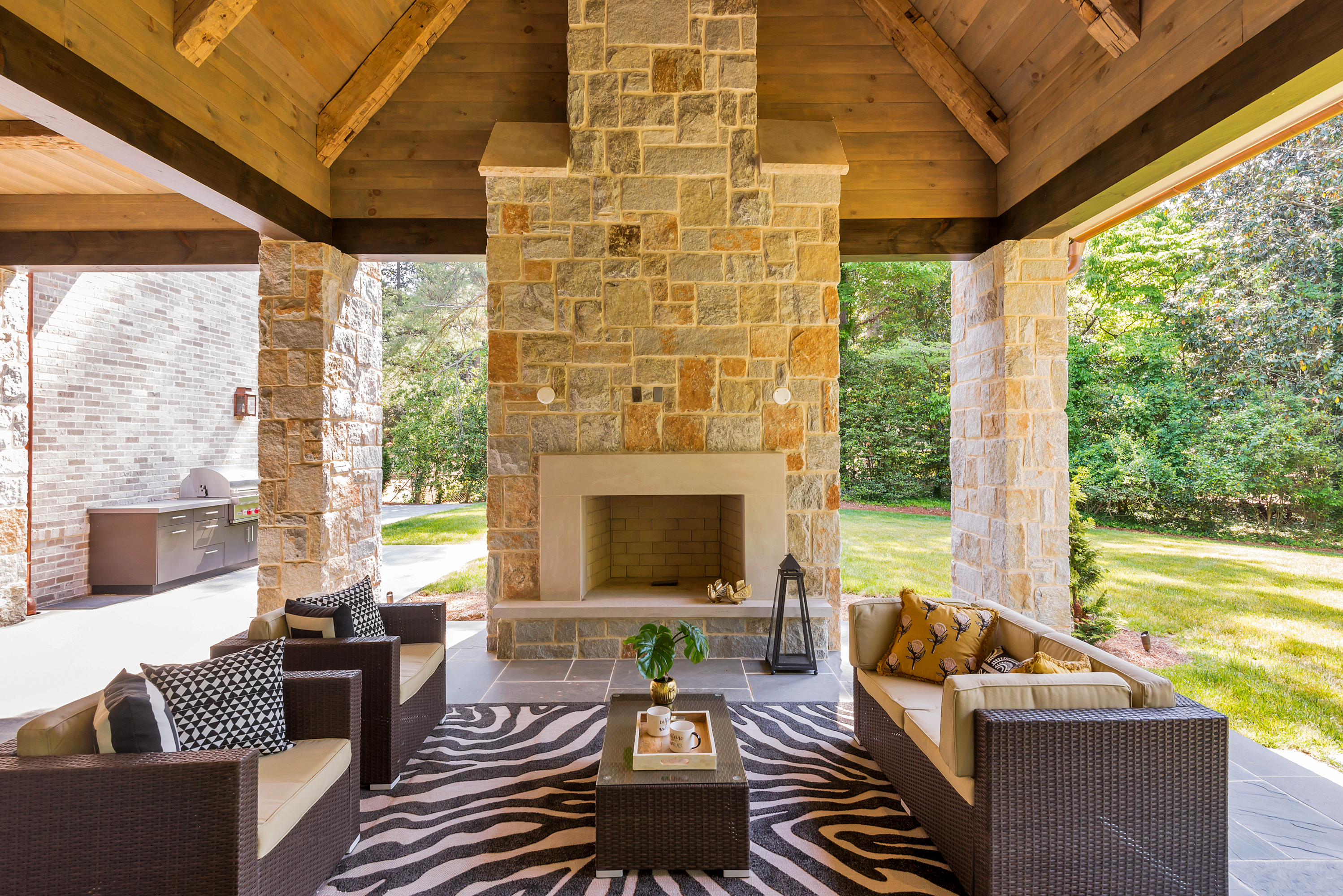 Outdoor Living Spaces Designed for Comfort | Design2Sell ... on Small Backyard Living Spaces id=94418