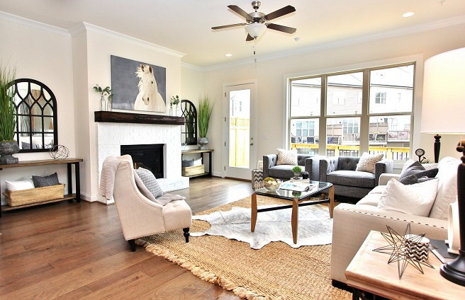 downtown Woodstock new model home