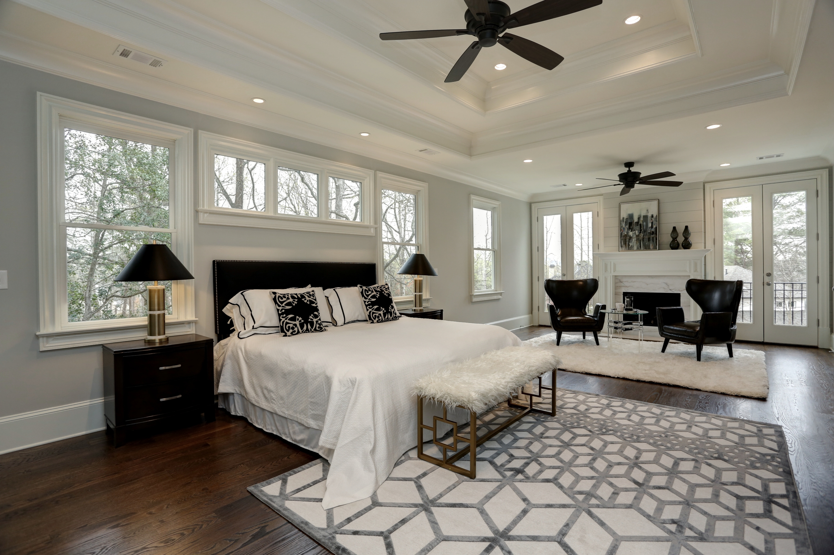luxury staged home by Stokesman Luxury Homes and Design2Sell