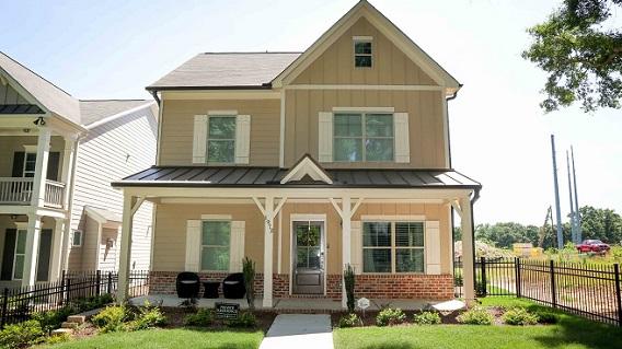 Brock Built Homes Wins OBIE for New Atlanta Home at West Highlands