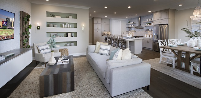 The Providence Group Wins Gold OBIE for Chelsea Walk Model Home