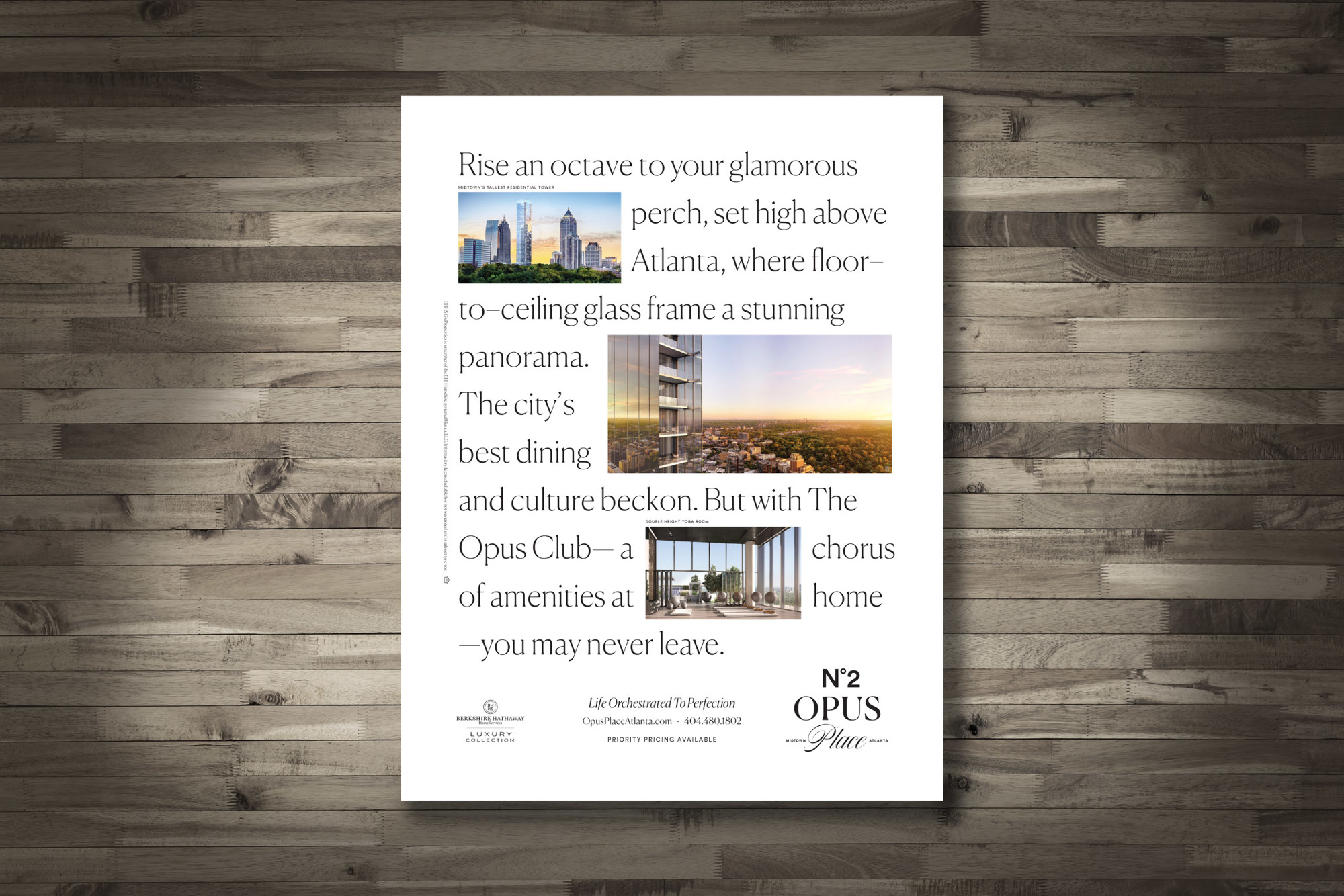 Berkshire Hathaway City Haus, Marketing Results Win Best Newspaper Ad