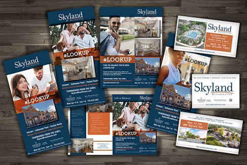 Skyland Brookhaven LOOKUP campaign materials