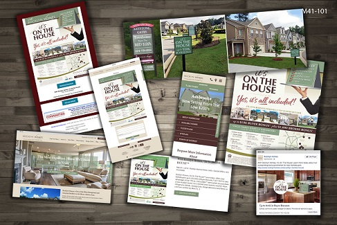 Rocklyn Homes' On the House campaign