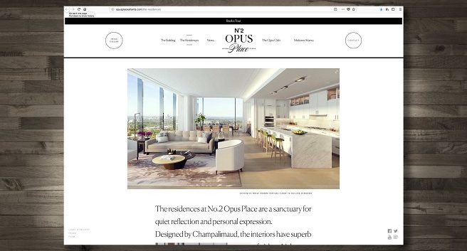 Berkshire Hathaway City Haus/Marketing Results Win Gold OBIE for No 2 Opus Place Website